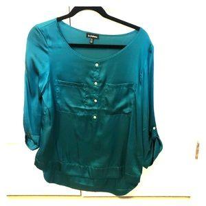 Jewel green blouse